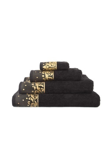 İrya New Flossy Havlu Sıyah 70*130 Siyah